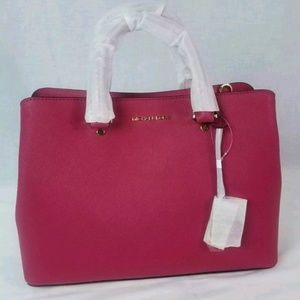 NEW Michael Kors Savannah Large Saffiano Leather